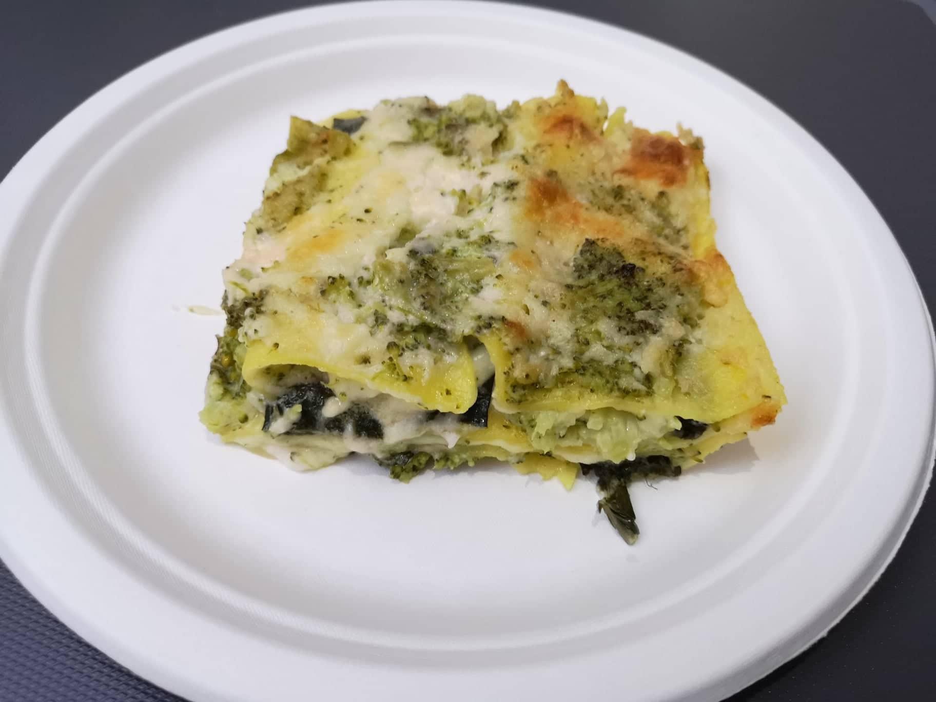 Lasagne con broccoli e provola